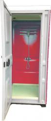 Toaleta cabina ecologica tip dus ICTET07R Rosu Toalete ecologice