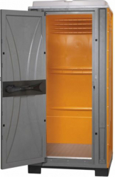 Toaleta Cabina ecologica tip vestiar ICTET14P Portocaliu Toalete ecologice