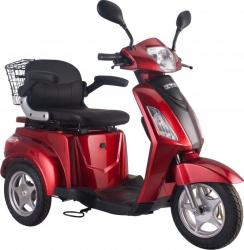 Tricicleta electrica 500W acceleratie 3 viteze alarma 50km Tornado TRD910 rosu