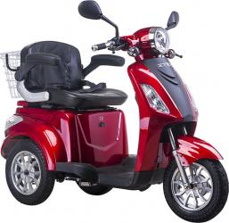Tricicleta electrica 500W frana electromagnetica fara permis Z-Tech ZT 15 E rosu