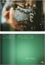 Caiet Muzica Ecada 17x24 cm Coperta Policromie Caiete Muzica Caiet de Muzica Caiete Scolare Muzica Caiete de Muzica Articole si accesorii birou