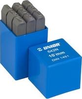 Set poansoane cifre Unior 8 mm Prasitori