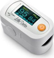 Pulsoximetru Little Doctor MD300C23 indica nivelul de saturatie a oxigenului din sange masoara rata pulsului
