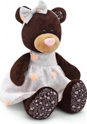 Milk fetita ursulet in rochita brodata din plus 25cm Orange Toys