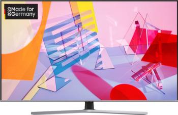 Televizor QLED Samsung GQ43Q67TGUXZG Smart TV 4K UHD HDR inregistrare USB control vocal procesor Quantum 4K Lite 108 cm negru
