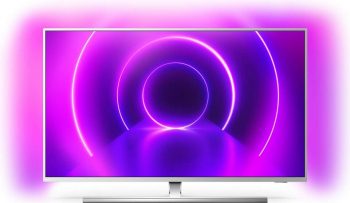 pret preturi Televizor LED PHILIPS 43PUS8555 SmartTV 4K UHD control vocal HDR 10+ Ambilight 108 cm argintiu