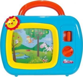 Jucarie televizor interactiv Shopiens albastru 23x22x5 cm