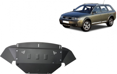 Scut auto metalic motor Audi A4 1998- Audi A6 C5 1997-2004 Audi Allroad 1999-2005 Volkwagen Passat 1997- Scuturi auto