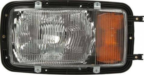 Far stanga H4/P21W/T4W manual culoare Semnalizator portocaliu MERCEDES MK SK intre 1987-1996 Sistem iluminat