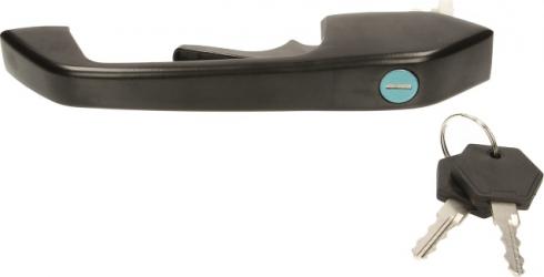 Maner usa fata dreapta exterior cu chei cu locas incuietoare cu incuietoare negru SCANIA 3 intre 1988-1995