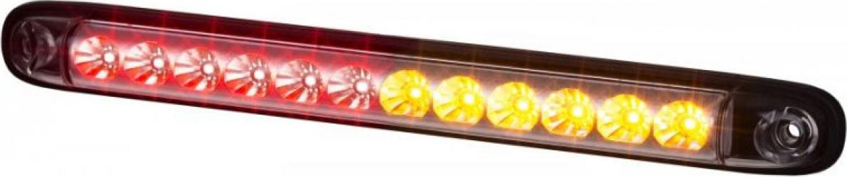 Stop lampa spate stanga/dreapta LED 12/24V semnalizator lampa stop lumina parcare cu 1m fire