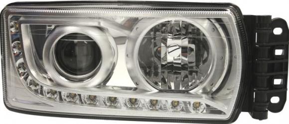 Far dreapta 12LED1WATT/H7 manual cu ECU controller IVECO STRALIS dupa 2013