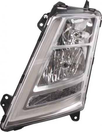 Far stanga H1/H7/LED/PY21W manual fundal argintiu VOLVO FH II dupa 2012 Sistem iluminat