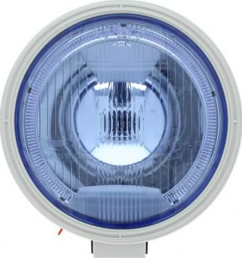 Far universala stanga/dreapta H1 12/24V diametru 225mm albastru plastic negru halogen lumina pozitie LED Sistem iluminat