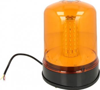 Girofar portocaliu 12/24V LED prindere 3 puncte