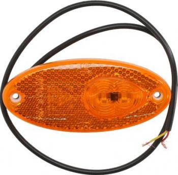 Lampa gabarit stanga/dreapta galben LED inaltime 45 latime 101 6 adancime 12 5 lungime cablu 500 24V Sistem electric