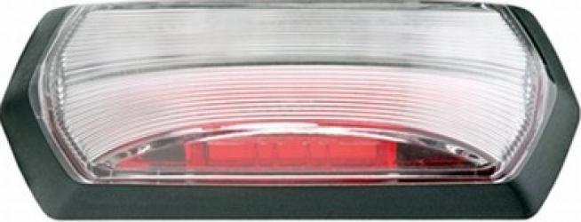 Lampa gabarit stanga/dreapta rosu/alb LED inaltime 99 2 latime 37 5 adancime 37 7 24V