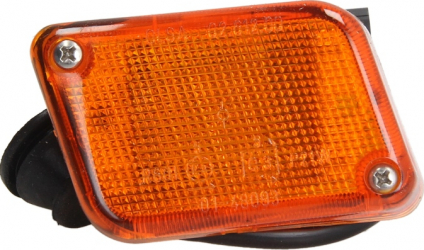 Lampa Semnalizator fata dreapta culoare sticla portocaliu IVECO EUROTECH MH EUROTECH MP EUROTECH MT dupa 1992