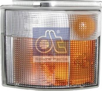 Lampa Semnalizator fata stanga culoare sticla portocaliu/transparent SCANIA 4 P G R T dupa 1995