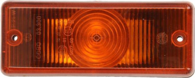 Lampa Semnalizator fata stanga/dreapta culoare sticla portocaliu P21W Bara IVECO EUROTECH MP EUROTECH MT EUROTRAKKER dupa 1992