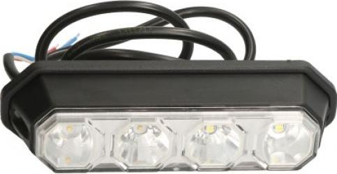 Lampa Semnalizator fata stanga/dreapta culoare sticla transparent LED 147x42x37mm cu Lumini pozitie Sistem electric