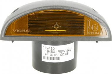 Lampa Semnalizator fata stanga/dreapta portocaliu no bulb ornamente RVI PREMIUM dupa 1996