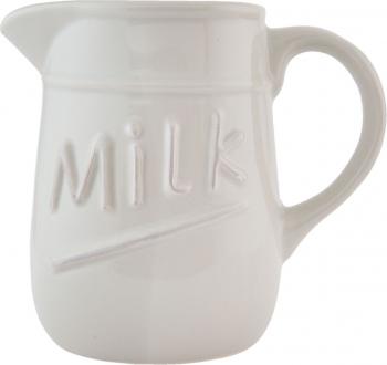 Latiera ceramica bej Milk 17 x 11 x 15 cm - 0 75 L