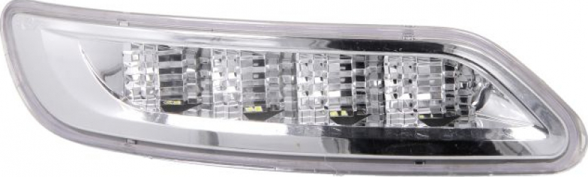 Lumini marcaj dreapta alb LED put-in 24V pe acoperis IVECO STRALIS dupa 2012
