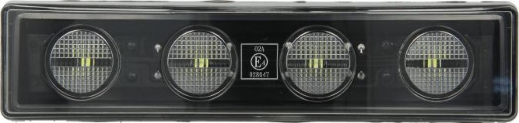 Lumini marcaj spate stanga/dreapta alb LED 12/24V Elemente caroserie