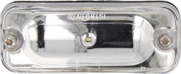 Lumini marcaj spate stanga/dreapta alb LED inaltime 40 latime 100 24V DAF XF 105 dupa 2005
