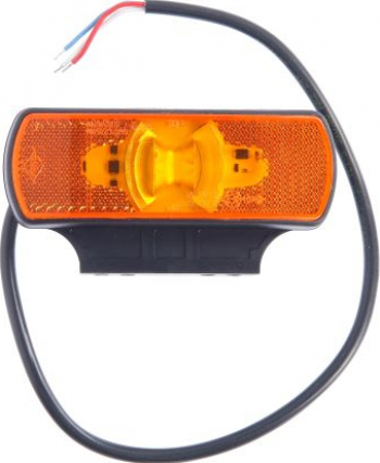 Lumini marcaj spate stanga/dreapta portocaliu LED inaltime 44 latime 122 adancime 19 suprafata lungime furtun 500 2/24V Elemente caroserie