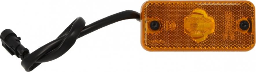Lumini marcaj spate stanga/dreapta portocaliu lungime furtun 300 12/24V IVECO DAILY III intre 1999-2007