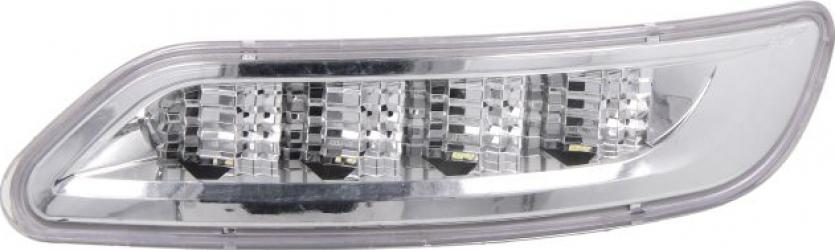 Lumini marcaj stanga alb LED put-in 24V pe acoperis IVECO STRALIS dupa 2012