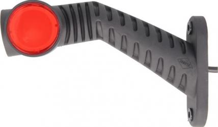 Lumini marcaj stanga portocaliu/rosu/alb LED inaltime 100 latime 55 adancime 175 suprafata lungime furtun 500 brat lung 12/24V Elemente caroserie