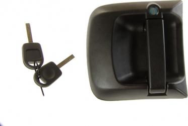 Maner usa stanga exterior cu chei cu incuietoare negru MAN TGA TGL TGM TGS TGX dupa 2000
