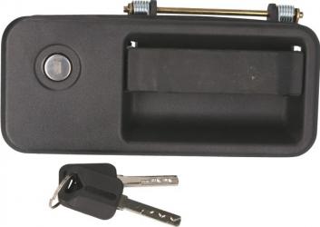 Maner usa stanga exterior cu chei cu locas incuietoare cu incuietoare VOLVO FH 12 FM 12 dupa 1993