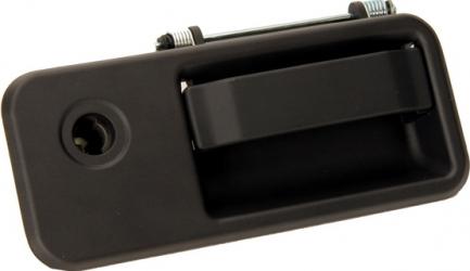 Maner usa stanga exterior fara chei cu locas incuietoare negru VOLVO FH 12 FH 16 FH 16 II FM 10 FM 12 FM 7 FM 9 NH 12 dupa 1993