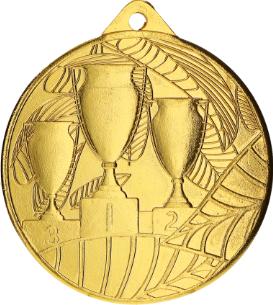 Medalie Sportiva Aur model 3 Cupe pentru Locul 1 diametru 5 cm Cupe, trofee si medalii