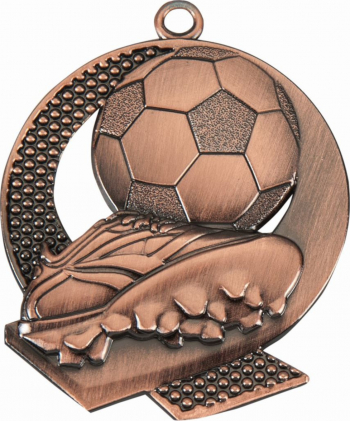 Medalie Sportiva Bronz model Fotbal pentru Locul 3 43x50cm Cupe, trofee si medalii