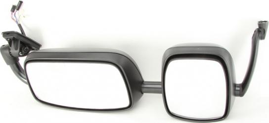 Oglinda exterioara stanga 2 oglinzi cu suport reglaj electric 24V DAF XF105 / CF