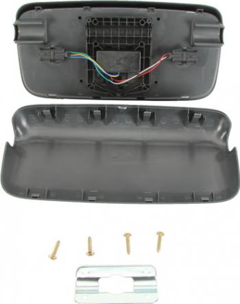 Oglinda stanga MAN TGA / TGL / TGM 399X207 24V cu reglaj electric Elemente caroserie