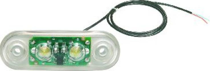 Reflector alb LED 24V cablu 5000mm