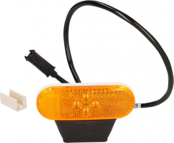 Reflector portocaliu LED 24V 500mm