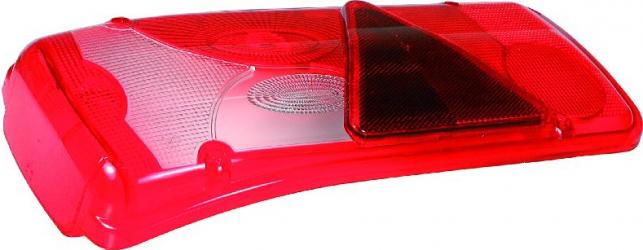 Reflector Stop lampa spate rosu-alb stanga LC8T