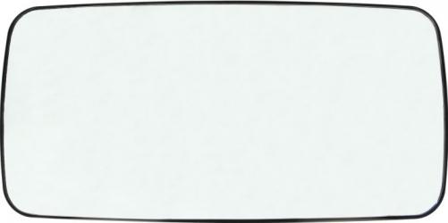 Sticla oglinda 372x189mm incalzita DAF LF 45 LF 55 RVI MIDLINER MIDLUM PREMIUM dupa 1996