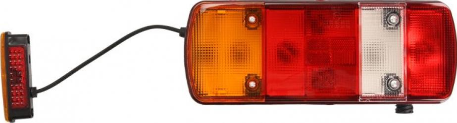Stop lampa spate stanga cu bulb deschis 12/24V reflector soclu AMP 7 pini MAN TGA TGL TGM TGS TGX dupa 2000