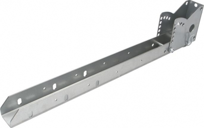 Suport acoperire galvanizat stanga 700mm