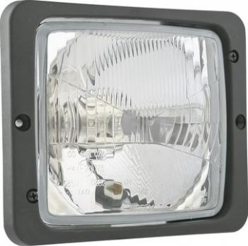 Far stanga/dreapta H4/T4W manual cu rama 172x142mm