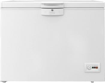 Lada frigorifica Beko HSA24540N 230 Clasa A++ Securizare yala Congelare rapida Iluminare LED Alb Lazi si congelatoare