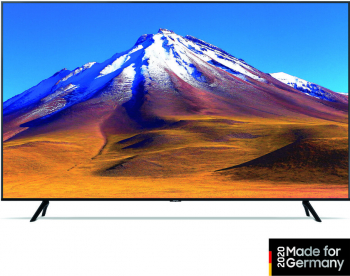 Televizor LED Samsung Crystal UHD 75TU6979 Smart TV 4K UHD control vocal A+ 189 cm negru